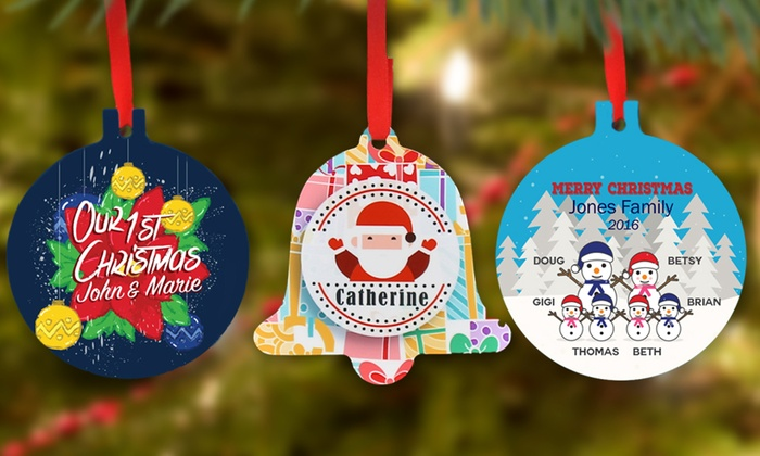 Personalized Christmas Ornaments from Monogram Online: Personalized Christmas Ornaments from Monogram Online