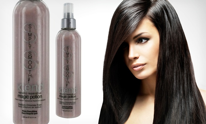 Simply Smooth Keratin Treatment: $18.99 for Simply Smooth Xtend Keratin Reparative Treatment ($29.90 List Price). Free Shipping.