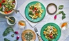 Pick Me Meal Club **DNR**: Three- or Six-Months of Vegetarian Weekly Online Meal Plans from Pick Me Meal Club (Up to 87% Off)