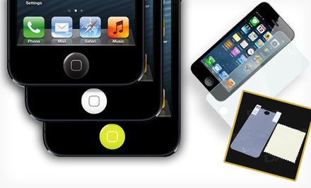 3D Luxe Tempered-Glass Screen Protector for iPhone 5/5S/5C. Multiple Options Available from $8.99-$9.99.