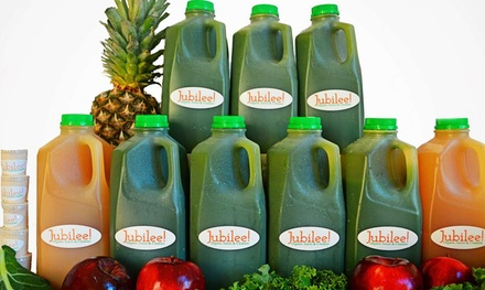 Three-, Five-, or Seven-Day Detoxifying Juice Cleanse from Jubilee Juices (Up to 62% Off)