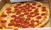 Big Tony's Pizzeria - Elmhurst: Pizza and Italian Food at Big Tony's Pizza (Half Off). Two Options Available.