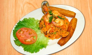 Mi Querida Colombia: $14 for Two Lunch or Dinner Entrees for Two People at Mi Querida Colombia (Up to a $25.90 Value)