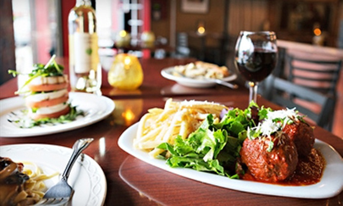 The Bradford - Federal Hill: Homestyle Italian-American Dinner for Two or Four at The Bradford (Up to 53% Off)
