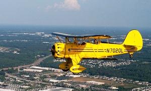 Biplane Rides Over Atlanta: $89 for an Open-Air Biplane Ride from Biplane Rides Over Atlanta ($175 Value)