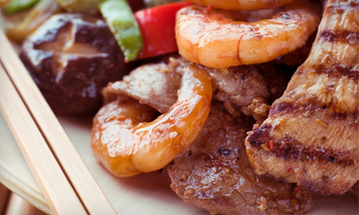 Kobe Steak House of Japan - Wichita: $15 for $30 Worth of Hibachi Grill Fare at Kobe Steak House of Japan