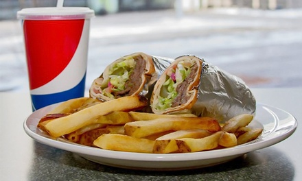 $12 for $20 Worth of Mediterranean Food at Wrapz Pita Bar