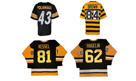 Autographed Pittsburgh Penguins and Steelers Jerseys at TOTAL SPORTS ENTPERISES