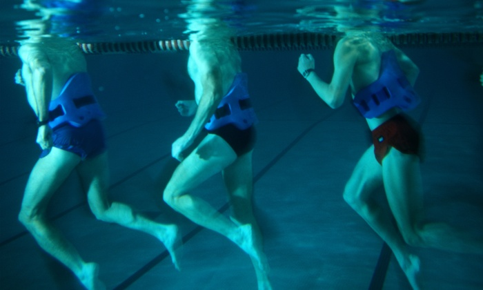 RJ Valentin's Deep Water Running - Multiple Locations: 5, 10, or 20 Deep-Water Running Classes, or Month of Classes at RJ Valentin's Deep Water Running (Up to 93% Off)