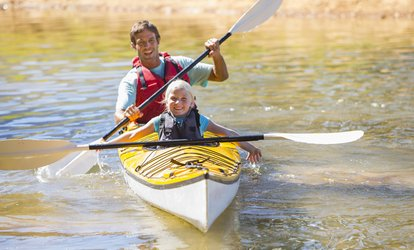Two-Hour Kayak Tour for One, Two, or Four or Kayak Lessons for One or Two at Discover Kayak (Up to 50% Off)