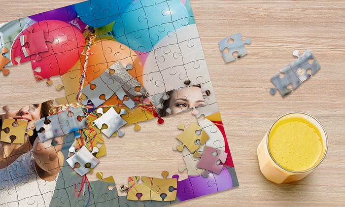 CanvasOnSale: 110-Piece Personalized Puzzles from CanvasOnSale (Up to 90% Off)