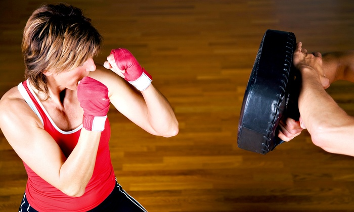 Premier Martial Arts - North Richland Hills: 10 Kickboxing Classes or One Month of Unlimited Classes at Premier Martial Arts North Richland Hills (Up to 76% Off)