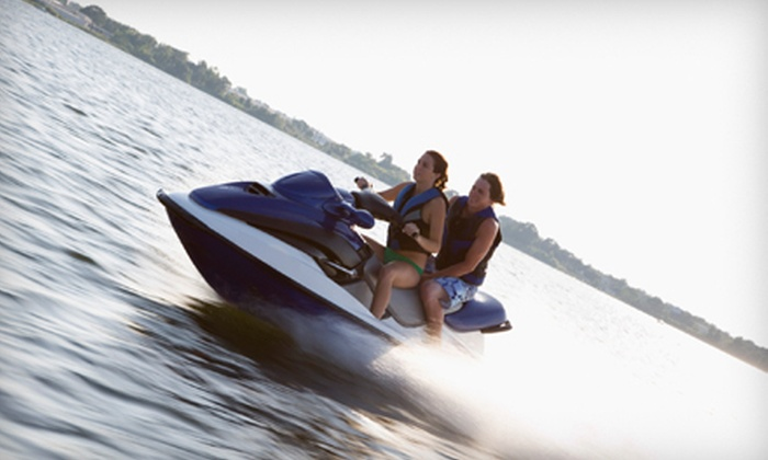 H2O Craft Rentals - Stockton: 24-Hour Fishing-Boat, Patio-Boat, or Jet-Ski Rentals from H2O Craft Rentals in Tracy (Up to 53% Off)