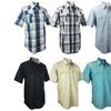 Burnside Men's Short Sleeve Button Down Shirts