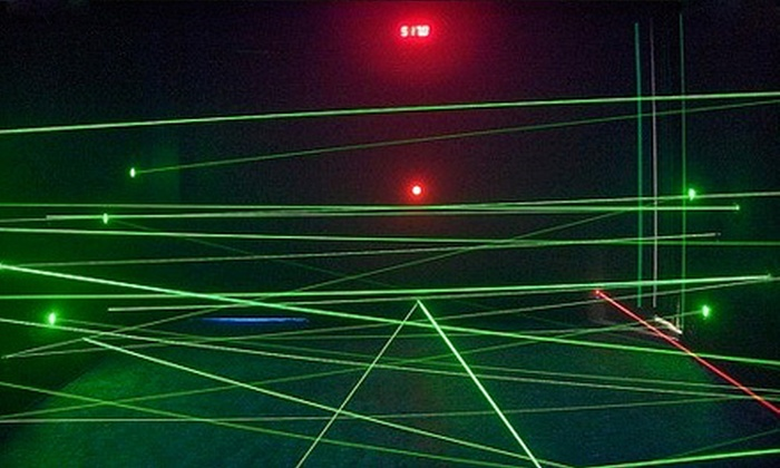 The Lazer Maze - Cherry Valley: Unlimited Laser-Maze Outing for Two, Four, or Six at The Lazer Maze (Up to 55% Off)