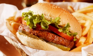 Montys Bar and Kitchen: Gourmet Burger and a Beer For Two or Four at Monty's Bar and Kitchen (Up to 60% Off)