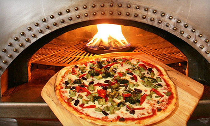 Magma Pizza & Pita - West Windsor: Pizza-Making Class, Five Pizzas, or $16.50 for $30 Worth of Mediterranean-Inspired Pizzeria Food