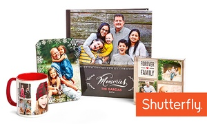 50% Off Photo Custom Products from Shutterfly.  at Shutterfly, plus 6.0% Cash Back from Ebates.