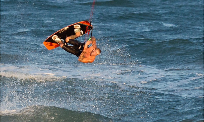 Port A H20 - Port Aransas: One-Hour Kiteboarding Lesson at Port A H2O (75% Off)