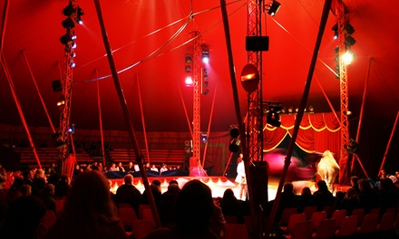 The Attic's Haunted Circus Halloween Weekend with Open Bar on Friday, October 27, at 10:30 p.m.