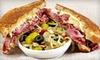 The Posh Nosh Deli - Clayton: Deli Sandwiches and Drinks at The Posh Nosh Deli (Half Off). Two Options Available.