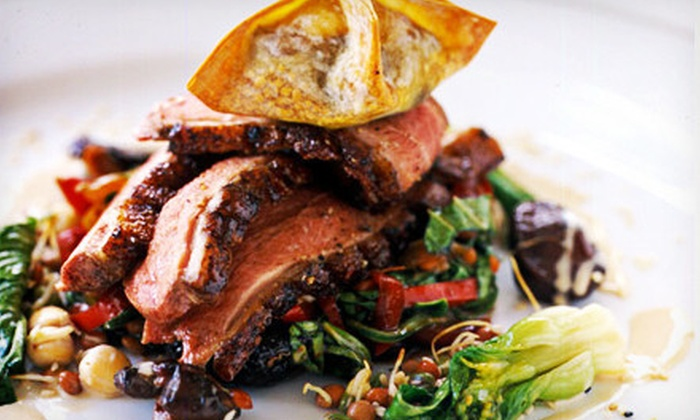 The Purple Fig - Upper West Side: Up to 65% Off Gourmet Meal for 2 or 4 at The Purple Fig