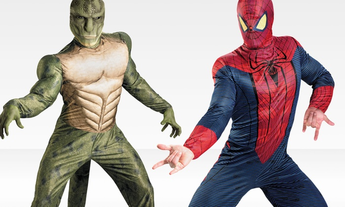 Men's and Boys' Spiderman and Lizard Costumes: Men's and Boys' Spiderman and Lizard Costumes. Multiple Sizes Available. Free Shipping and Returns.