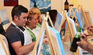 Art Obsession: Up to 56% Off BYOB Canvas Painting Class at Art Obsession