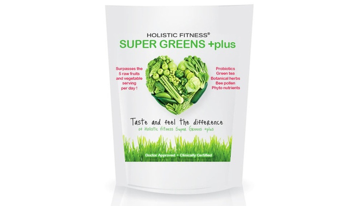 30-Day Supply of Super Greens Plus: 30-Day Supply of Super Greens Plus Dietary Supplement