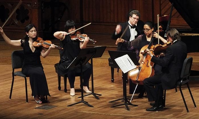 Beethoven, Tsontakis, Glazunov or Mozart, Mendelssohn, Françaix - Sanders Theatre - Harvard University: Mozart, Mendelssohn, Françaix at Sanders Theatre (Up to 41% Off)
