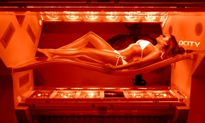 Club Tan: One or Three High-Pressure Tanning Sessions at Club Tan (Up to 71% Off)