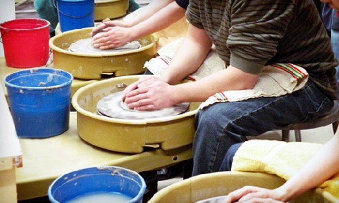The Potter's Wheel - Kew Gardens: Private Pottery Class for One or Two People or Seven Classes for One Person at The Potter's Wheel (Up to 78% Off)