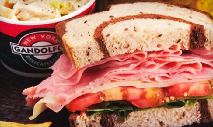 Gandolfo's New York Delicatessen - West Central: $10 for $20 Worth of Premium Sandwiches and Drinks at Gandolfo's New York Delicatessen