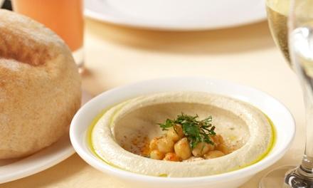 Lebanese meal arz lebanese restaurant groupon for Arz lebanese cuisine