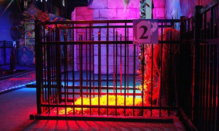 Ghost Golf - Downtown Concord: $16 for Four Rounds of Mini Golf at Ghost Golf (Up to $32 Value)