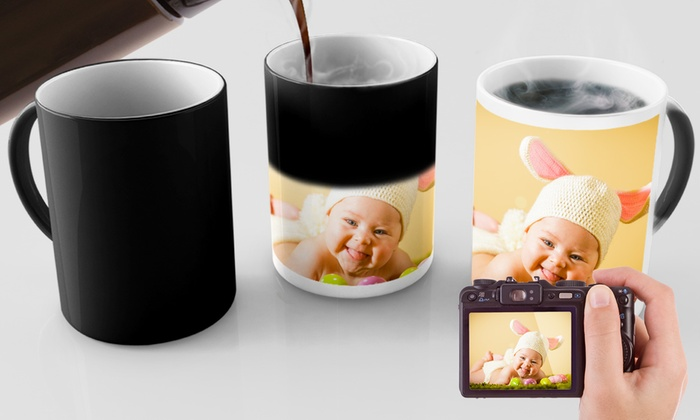 mug magique printerpix printerpix groupon. Black Bedroom Furniture Sets. Home Design Ideas