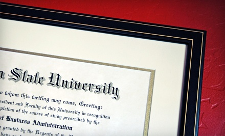 One Diploma Framing  - Koch & Company in Louisville