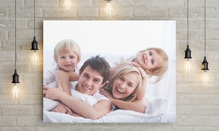 One or Two Canvas Photo Prints at Prints 2 Go (Up to 85% Off). Five Options Available.