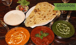 Punjab Express: Authentic Two-Course Indian Dining Experience from R249 for Two at Punjab Express (Up to 40% Off)