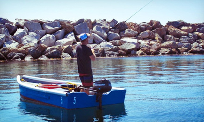 LA Boat Rentals - Redondo Beach: Four- or Eight-Hour Fishing-Skiff Rental from LA Boat Rentals (Up to 51% Off)