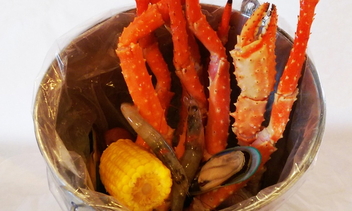 Asian N' Cajun - RP Sports Compex: $16for $25Worth of Seafood Boil and Asian Cuisine at Asian N' Cajun