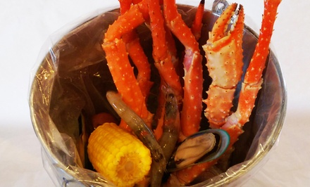 $17for $25Worth of Seafood Boil and Asian Cuisine at Asian N' Cajun