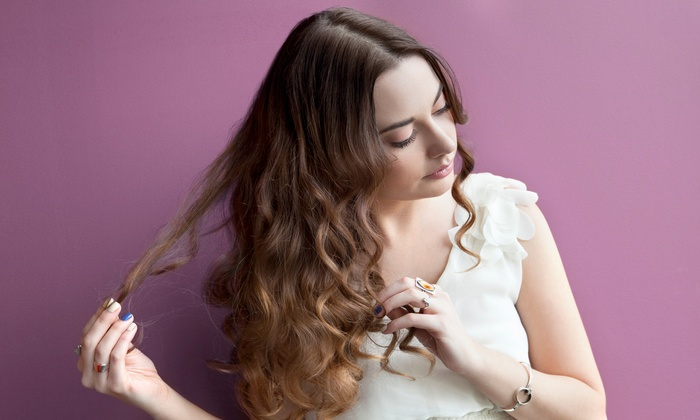 Marilyn Clark at Salon Yoo - Rancho Cucamonga: Blow-Dry with Option for Haircut and a Deep-Conditioning Treatment with Marilyn Clark at Salon Yoo (52% Off)