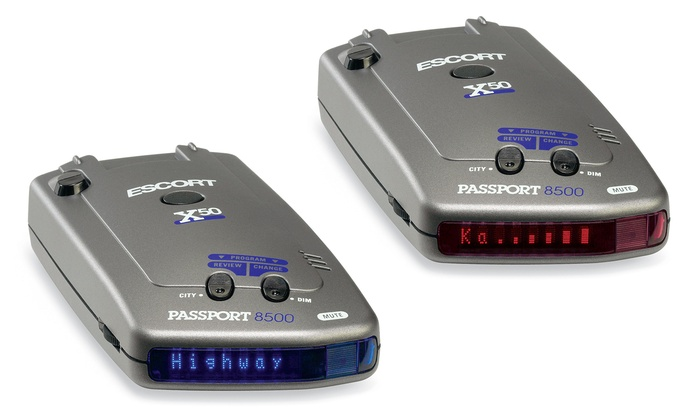 Escort 8500-X50 Radar Detector (Manufacturer Refurbished)