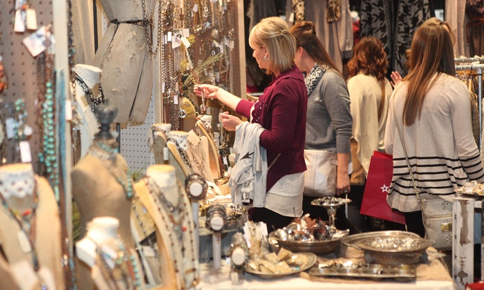 Marketplace Events LLC - Overland Park Convention Center: $12 for Two Single Day Tickets to the Holiday Boutique on November 19-22 ($24 Value)