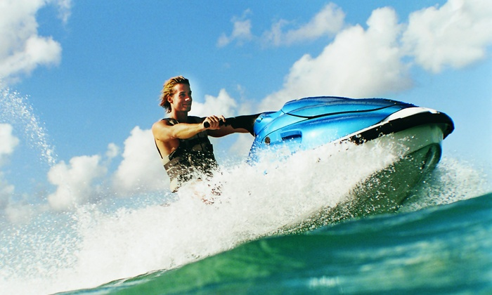 Keys Skis and Adventures - Key Largo: 2-hr Kayak Rental or All-Day Kayak Rental with 1-hr Jet-Ski Rental at Keys Skis and Adventures (Up to 50% Off)