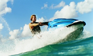 Keys Skis and Adventures: 2-hr Kayak Rental or All-Day Kayak Rental with 1-hr Jet-Ski Rental at Keys Skis and Adventures (Up to 52% Off)