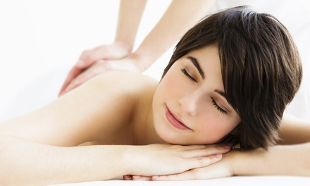 Choice of one hour massage muscle fix sports clinic for 33 fingers salon groupon