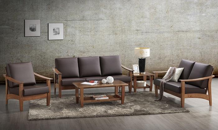 Edvard Mid Century Modern Wood Living Room Furniture