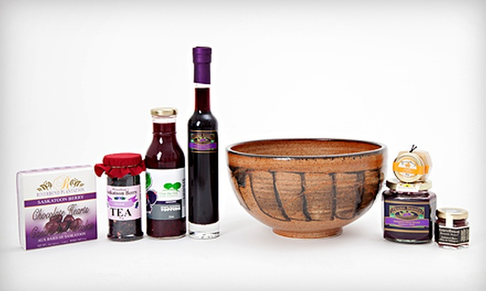 SaskMade Marketplace - Grosvenor Park: $20 for $40 Worth of Themed Gift Buckets Consisting of Local Products at SaskMade Marketplace